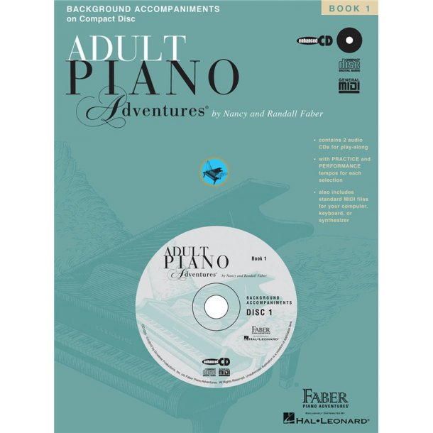 Nancy And Randall Faber: Adult Piano Adventures All-In-One Lesson Book One - CD