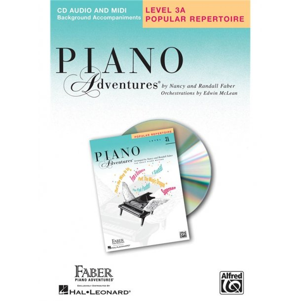 Nancy & Randall Faber: Piano Adventures® Popular Repertoire CD, Level 3A CD