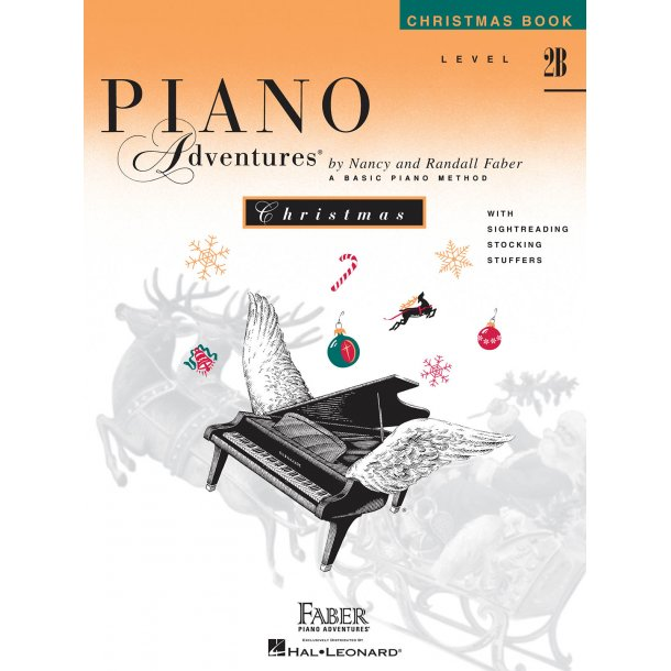 Nancy And Randall Faber: Piano Adventures Christmas Book Level 2B