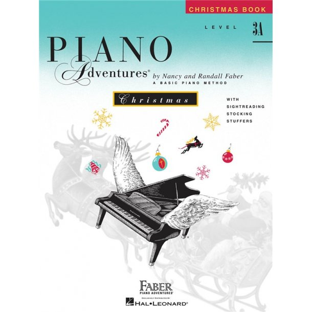 Nancy And Randall Faber: Piano Adventures Christmas Book - Level 3A