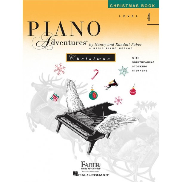 Nancy And Randall Faber: Piano Adventures Christmas Book - Level 4