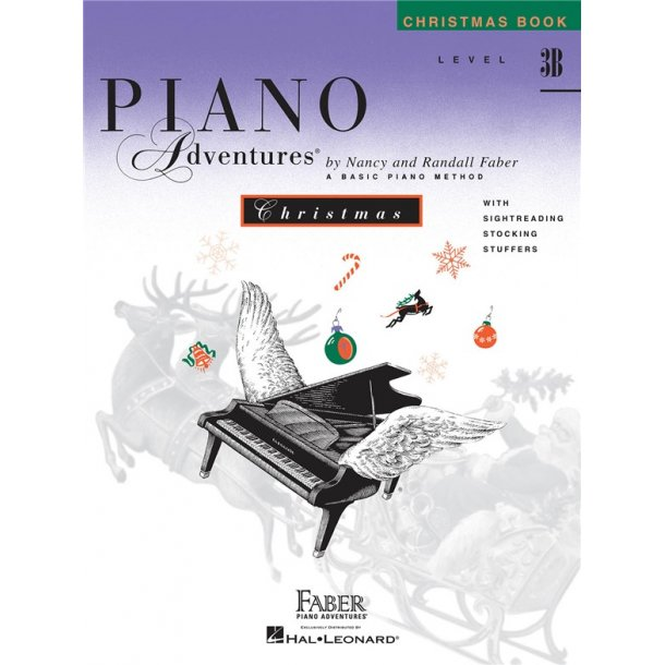 Nancy And Randall Faber: Piano Adventures Christmas Book, Level 3B