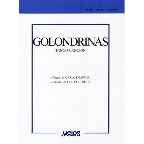 Gardel Golondrinas Tango Pf Bk