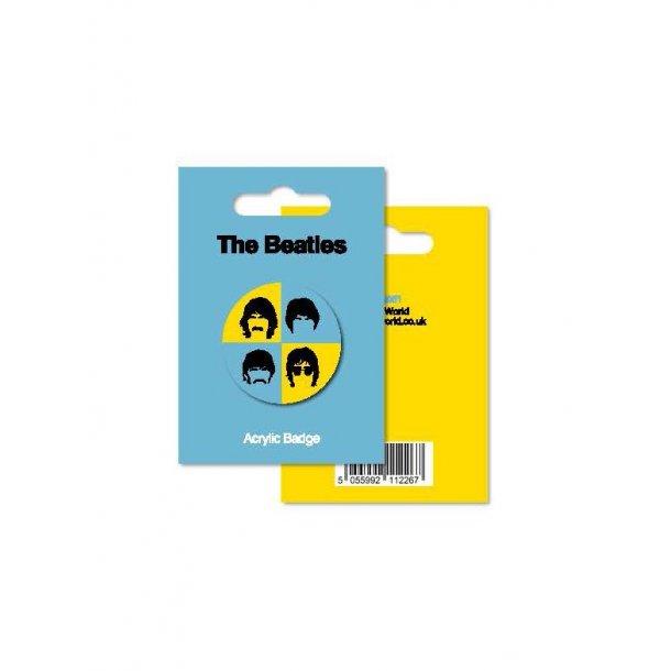 My World: Acrylic Badge - The Beatles