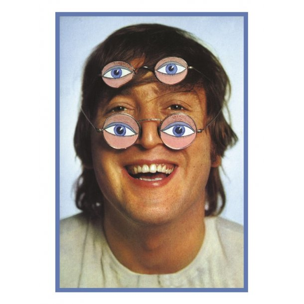 My World: Duffy Greetings Card - John Lennon