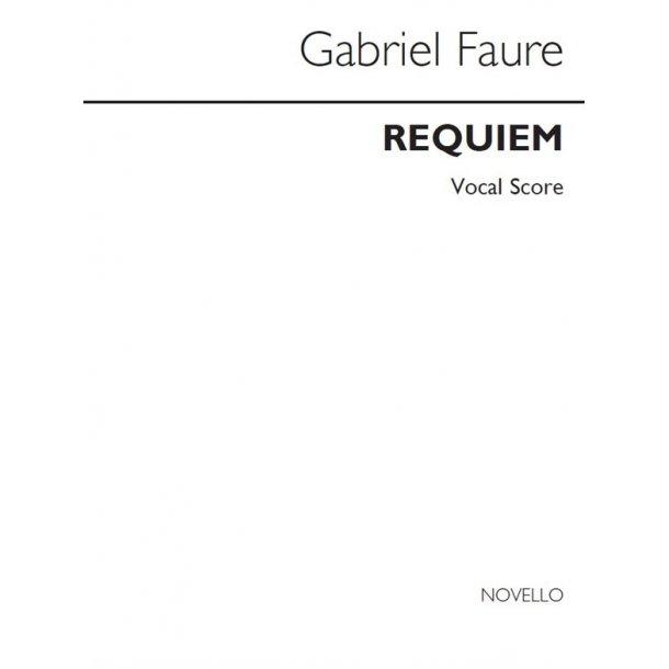 Gabriel Faure: Requiem (Large Print)