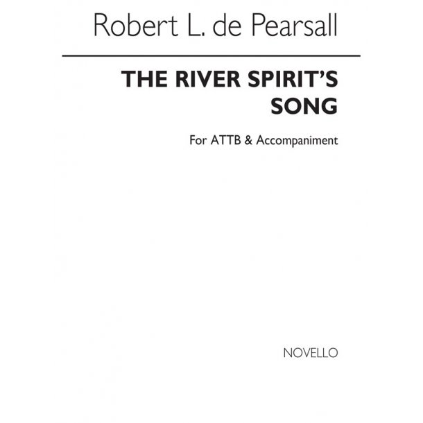 Pearsall, R  River Spirits Song, The  Attb/Pf