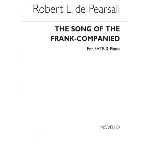 Pearsall, R  Song Of The Frank Companies, The  Satb/Pf