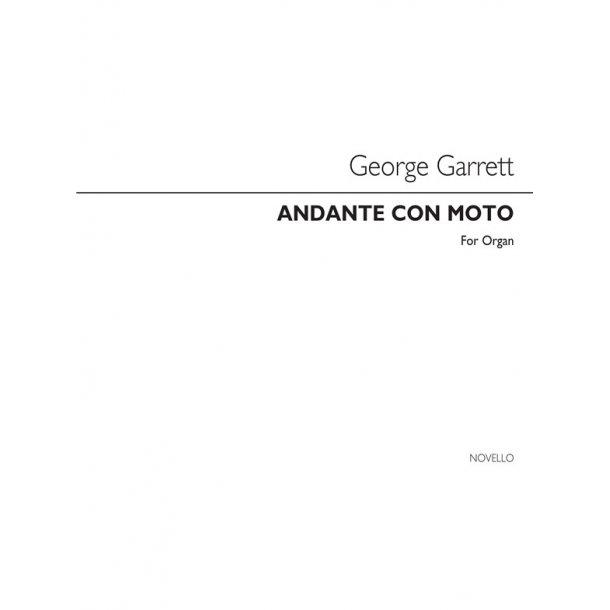 Garrett Andante Con Moto Organ