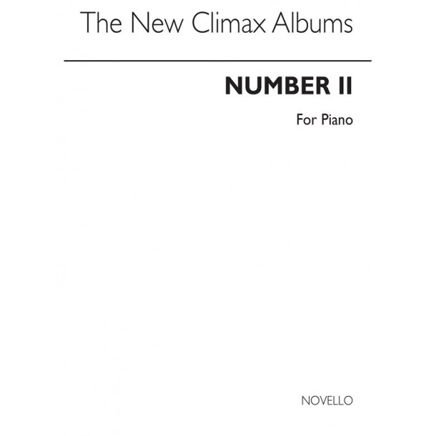 New Climax Albums For Piano Volume 2, The