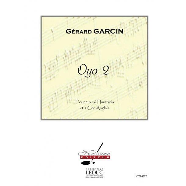 Garcin Oyo 2 Oboe Ensemble & Cor Anglais Score & Parts