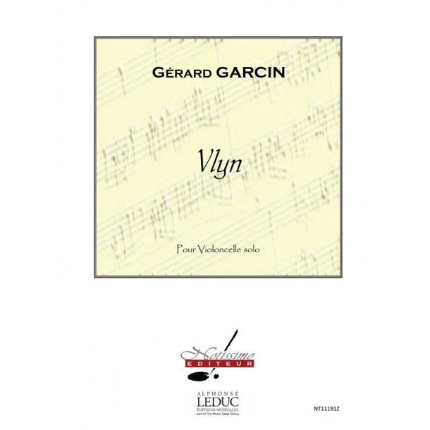 Garcin Vlyn Cello Solo Book