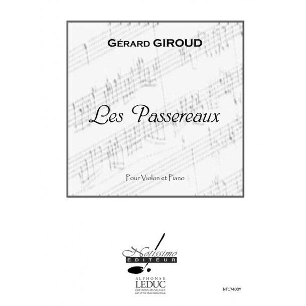 Giroud Passereaux Violin & Piano Book