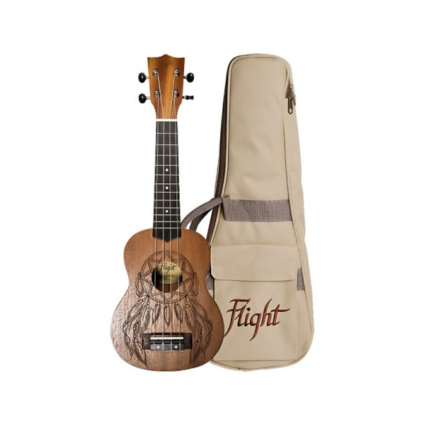 Dreamcatcher Soprano Ukulele - Flight NUS350DC