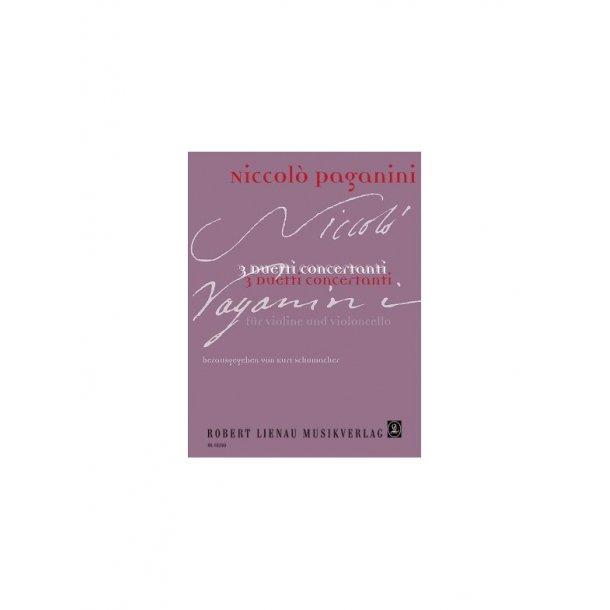 Niccolo Paganini: 3 Duetti Concertanti