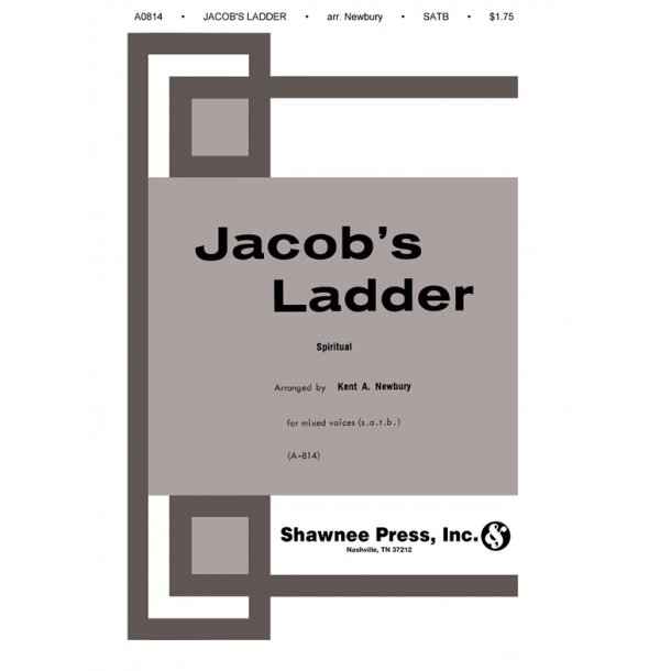 Newbury Jacobs Ladder Satb (A0814)
