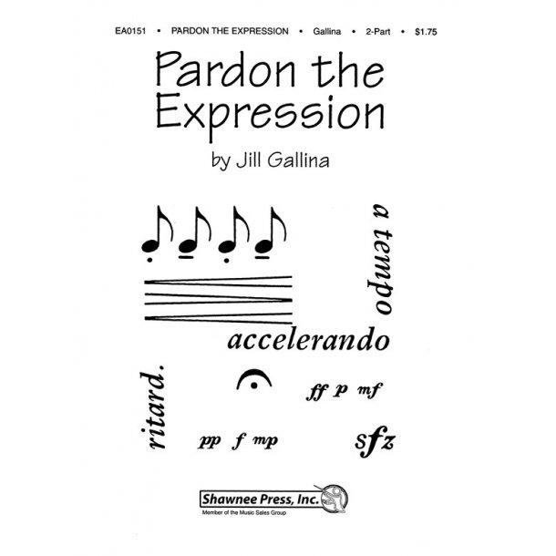 GALLINA PARDON THE EXPRESSION 2 PART