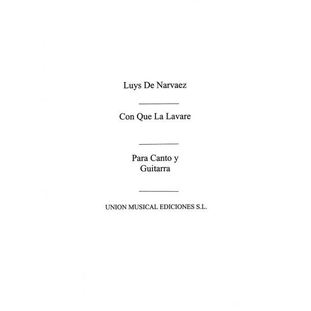Narvaez: Con Que Lavare (Azpiazu)
