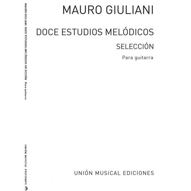 Giuliani: Doce Estudios Melodicos Op.48 (R Sainz De La Maza)