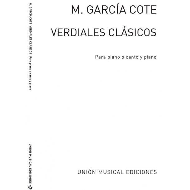 Garcia Cote Verdiales Clasicos Piano