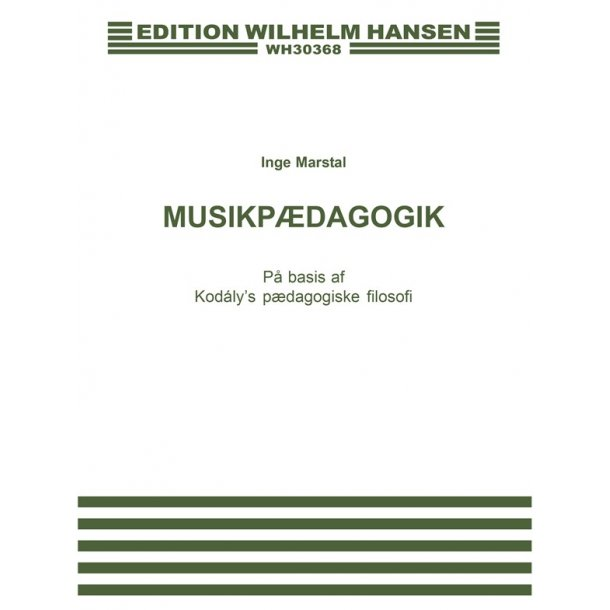 Musikpaedagogik - Kodaly's, Kopi