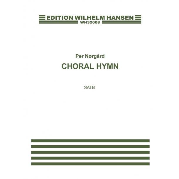 Nãrg·rd Choral Hymn Satb