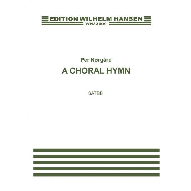 Nãrg·rd A Choral Hymn Satbb